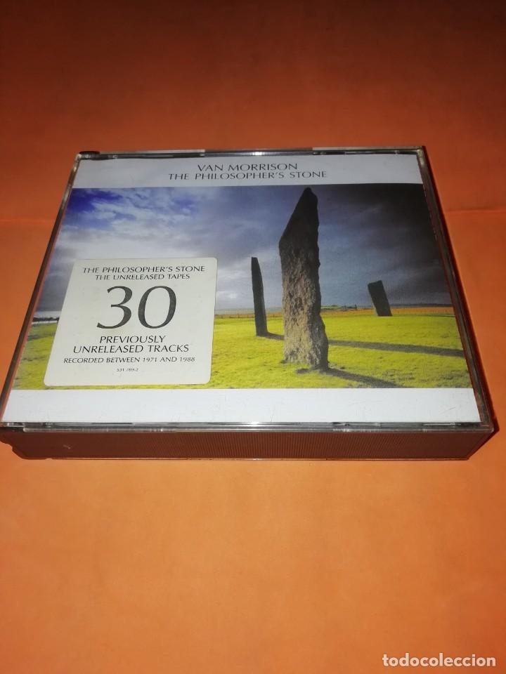 VAN MORRISON. THE PHILOSOPHER'S STONE. DOBLE CD. EXILE PRODUCTIONS 1998. RARO. (Música - CD's Jazz, Blues, Soul y Gospel)