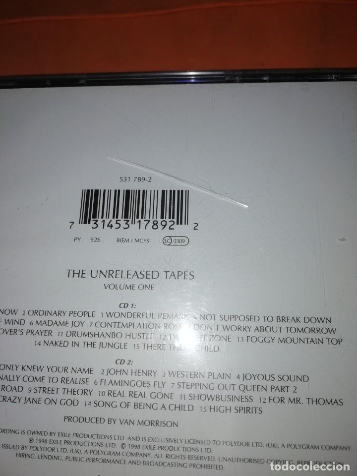 CDs de Música: VAN MORRISON. THE PHILOSOPHERS STONE. DOBLE CD. EXILE PRODUCTIONS 1998. RARO. - Foto 8 - 205780721