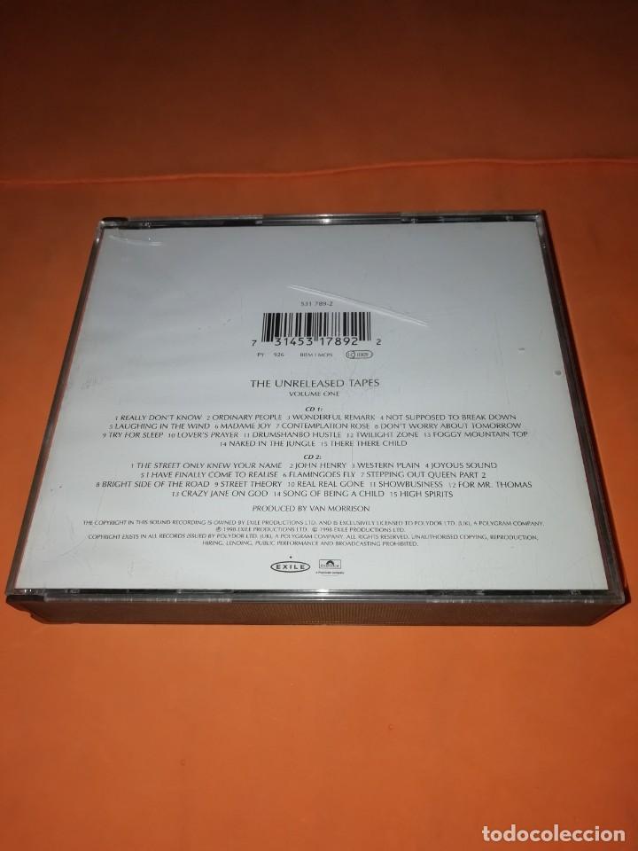 CDs de Música: VAN MORRISON. THE PHILOSOPHERS STONE. DOBLE CD. EXILE PRODUCTIONS 1998. RARO. - Foto 2 - 205780721
