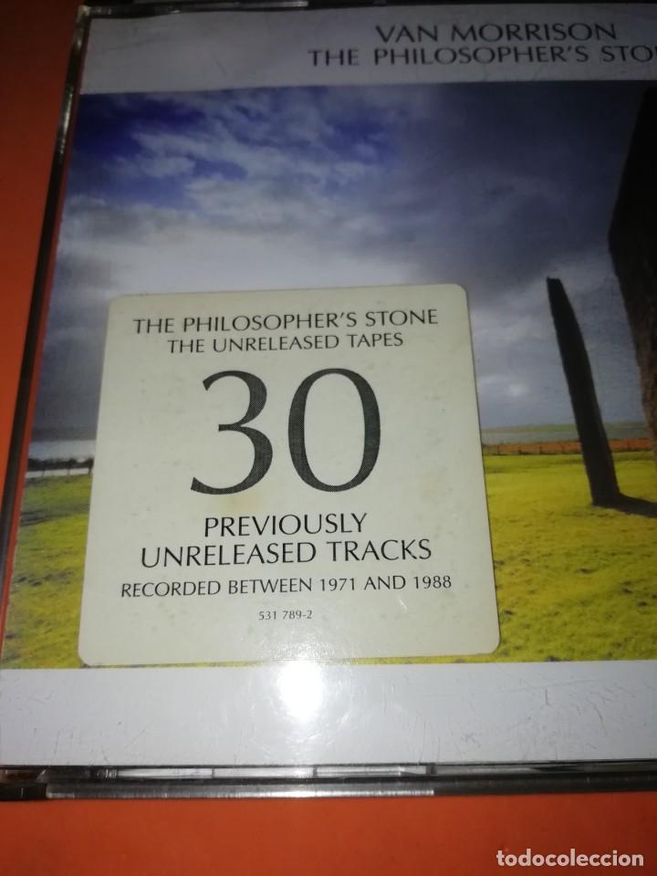 CDs de Música: VAN MORRISON. THE PHILOSOPHERS STONE. DOBLE CD. EXILE PRODUCTIONS 1998. RARO. - Foto 3 - 205780721