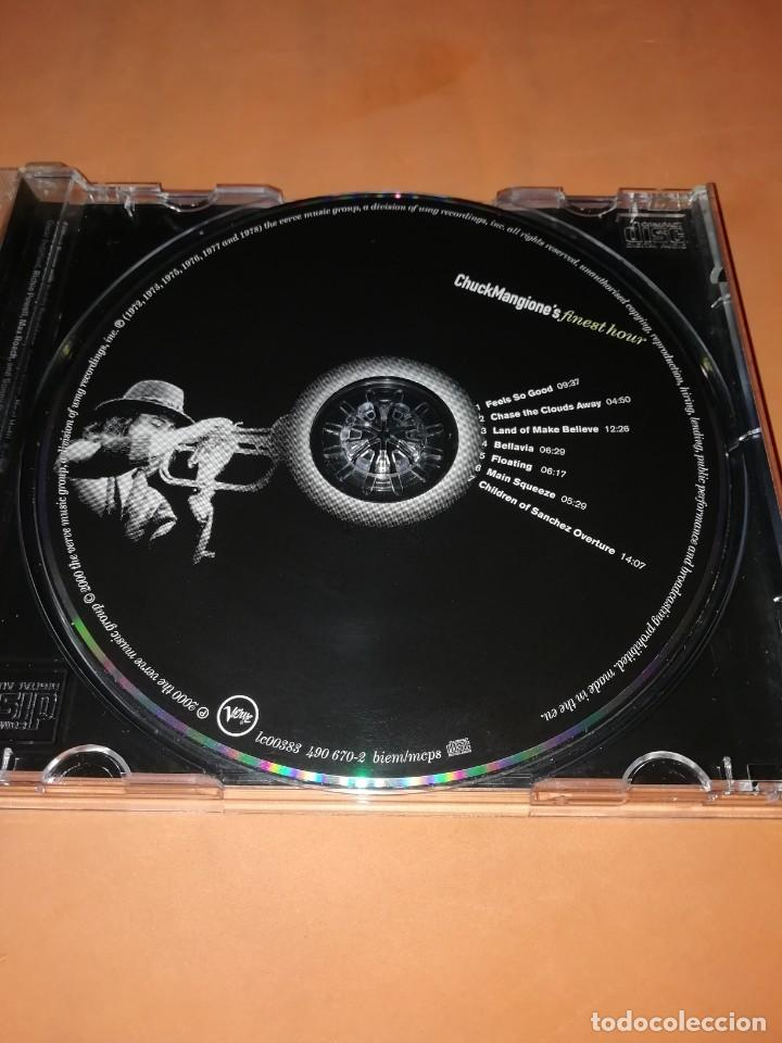 CDs de Música: CHUCK MANGIONES FINEST HOUR. THE VERVE MUSIC GROUP. 2000. CD. MADE IN THE EU. RARO. - Foto 7 - 205784335