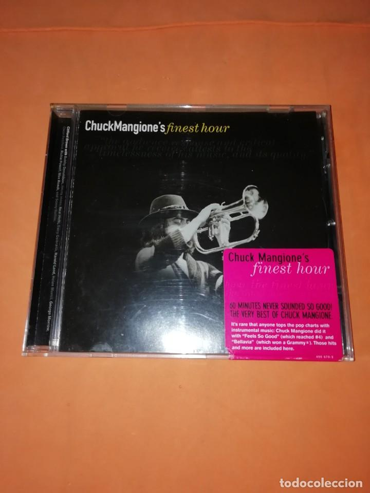 CHUCK MANGIONE'S FINEST HOUR. THE VERVE MUSIC GROUP. 2000. CD. MADE IN THE EU. RARO. (Música - CD's Jazz, Blues, Soul y Gospel)