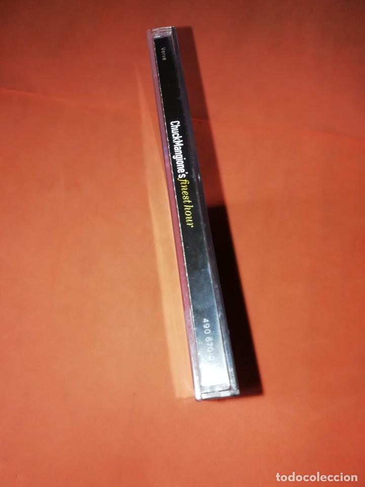 CDs de Música: CHUCK MANGIONES FINEST HOUR. THE VERVE MUSIC GROUP. 2000. CD. MADE IN THE EU. RARO. - Foto 10 - 205784335