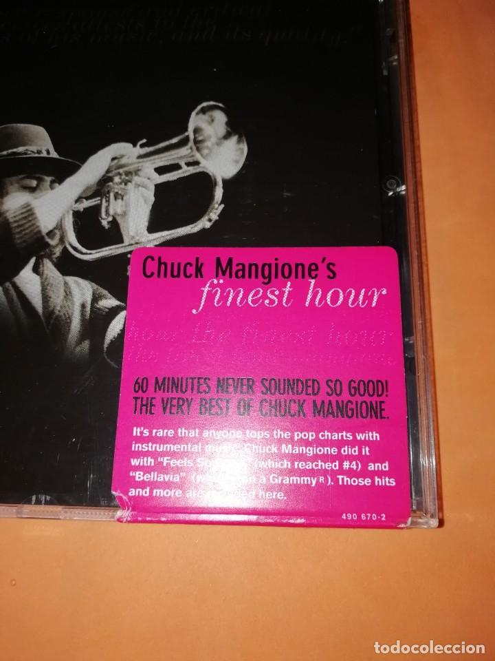 CDs de Música: CHUCK MANGIONES FINEST HOUR. THE VERVE MUSIC GROUP. 2000. CD. MADE IN THE EU. RARO. - Foto 6 - 205784335