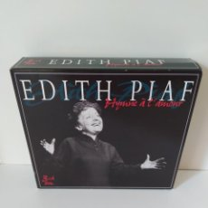CDs de Música: EDITH PIAF. HYMNE ÀL´AMOUR. 3 CD BOX. 2003 IMC MUSIC LTD. GOLDIES. FALTA EL SEGUNDO CD. VER FOTOS.. Lote 205816840