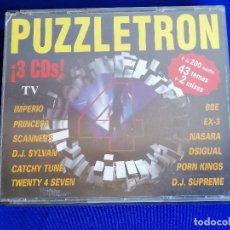 CDs de Música: PUZZLETRON 4 CDS- DISCOTECA PUZZLE RUTA DEL BACALAO. Lote 205824717