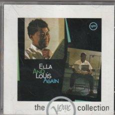 CDs de Música: ELLA FITZGERALD & LOUIS ARMSTRONG - ELLA AND LOUIS AGAIN (CD VERVE 2000). Lote 205848117