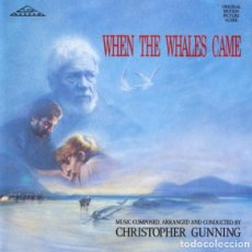 CDs de Música: WHEN THE WHALES CAME / CHRISTOPHER GUNNING CD BSO. Lote 205848500