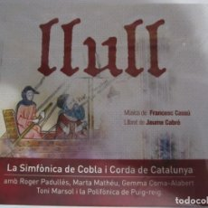 CDs de Música: DOBLE CD LLULL LA SIMFONICA DE COBLA I CORDA DE CATALUNYA NUEVO PRECINTADO. Lote 205850321