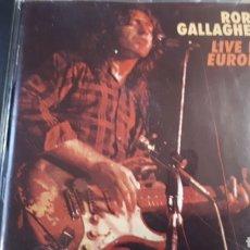 CDs de Música: RORY GALLAGHER LIVE IN EUROPA. Lote 205855461