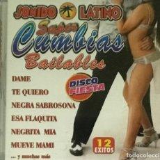 CDs de Música: SUPER CUMBIAS BAILABLES - SONIDO LATINO. Lote 205869495