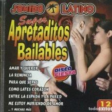 CDs de Música: SUPER APRETADITOS BAILABLES - SONIDO LATINO. Lote 205869498