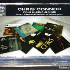 CDs de Música: CHRIS CONNOR EIGHT CLASSIC ALBUMS 8 CLASSIC ALBUMS REMASTERED. Lote 205873233