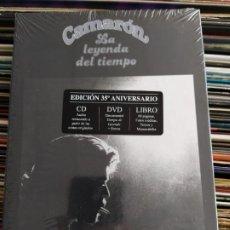 CDs de Música: CAMARÓN DE LA ISLA - LA LEYENDA DEL TIEMPO (CD, ALBUM + DVD-V) (UNIVERSAL MUSIC GROUP) 0602537619016. Lote 205887657