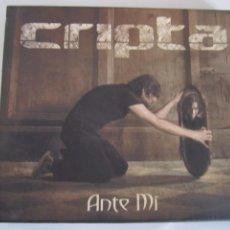 CDs de Música: CD Y DVD CRIPTA ANTE MI. Lote 205899721