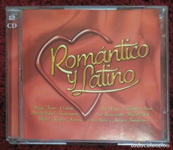 ROMANTICO Y LATINO - 2 CD'S 2003 (MIGUEL BOSE, MIGUEL RIOS, ROCIO DURCAL, PASION VEGA, TAMARA...) (Música - CD's Pop)