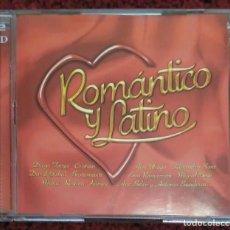 CDs de Música: ROMANTICO Y LATINO - 2 CD'S 2003 (MIGUEL BOSE, MIGUEL RIOS, ROCIO DURCAL, ALEJANDRO SANZ...). Lote 206117781