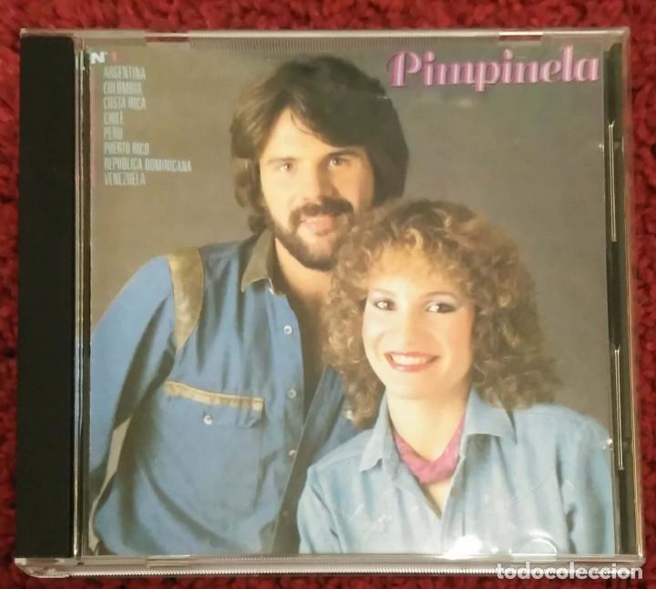 PIMPINELA (PIMPINELA) CD 1992 (Música - CD's Melódica )