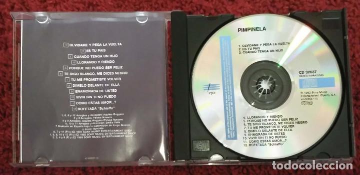 CDs de Música: PIMPINELA (PIMPINELA) CD 1992 - Foto 3 - 206118657