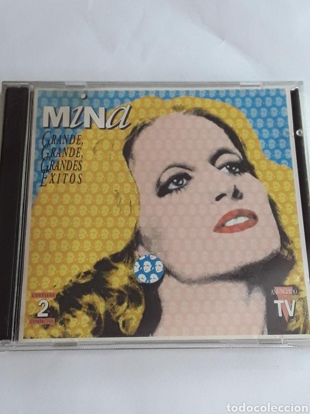 MINA GRANDES ÉXITOS- 2 CDS ORIGINALES / HISPAVOX 1994 (Música - CD's Melódica )