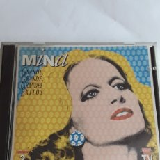 CDs de Música: MINA GRANDES ÉXITOS- 2 CDS ORIGINALES / HISPAVOX 1994. Lote 206128645
