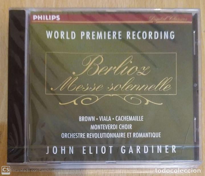 BERLIOZ (MESSE SOLENNELLE) CD 1994 * PRECINTADO (VIALA, CACHEMAILLE, MONTEVERDI CHOIR...) (Música - CD's Clásica, Ópera, Zarzuela y Marchas)