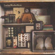 CDs de Música: LUCIUS WORKS HERE - UN MAPA DEL ALMA / DIGIPAK CD ALBUM DEL 2008 / MUY BUEN ESTADO RF-5871. Lote 206154502