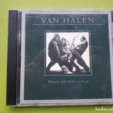 CDs de Música: VAN HALEN - WOMEN AND CHILDREN FIRST - COMPRA MÍNIMA 3 EUROS. Lote 206164261
