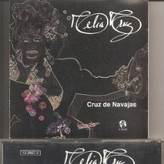 CD de Música: CELIA CRUZ - CRUZ DE NAVAJAS (CDSINGLE CAJA, BAT RECORDS 1993). Lote 206168951