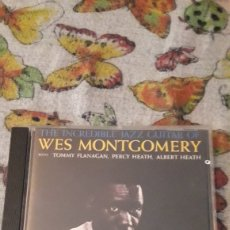 CDs de Música: WES MONTGOMERY. THE INCREDIBLE JAZZ GUITAR OF ... EDICION ALEMANA. Lote 206174585