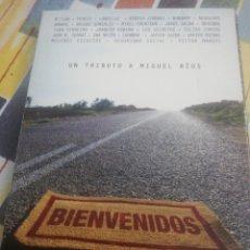 CDs de Música: BIENVENIDOS 2 CD TRIBUTO MIGUEL RÍOS. Lote 206185633
