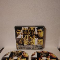 CDs de Música: PACK 2 CD - CARACTER - LATINO - AÑO 2003 - HOMBRES G - JARABA DE PALO. Lote 206189737