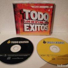 CDs de Música: CD DOBLE ORIGINAL - TODO EXITOS LOS 60 Nº1 DEL AÑO - MIX - VALE. Lote 206189751