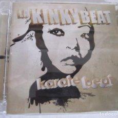 CDs de Música: CD KINKY BEAT KARATE BEAT. Lote 206193570