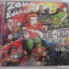 CDs de Música: CD ZONA PURPURA JUEGUE AL CAOS. Lote 206194077