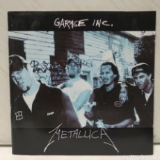 CDs de Música: METALLICA - GARAGE INC. 2XCD 1998 CD 1ER ED ALEMANA CON EXTENSO LIBRETO. Lote 206204418