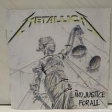 CDs de Música: METALLICA - ...AND JUSTICE FOR ALL 1998 CD ED ALEMANA. Lote 206207601
