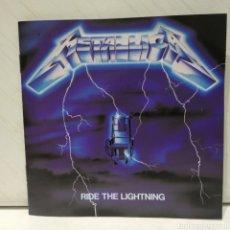CDs de Música: METALLICA - RIDE THE LIGHTNING CD 1989 ED ALEMANA. Lote 206215800
