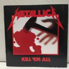 CDs de Música: METALLICA - KILL 'EM ALL CD 1989 ED ALEMANA. Lote 206216206