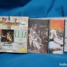 CDs de Música: LED ZEPPELIN - HOUSES OF THE HOLY, IN TROUGH THE OUT DOOR, CODA - 3 CDS - E. ESPECIAL COLECCIONISTA. Lote 206223131