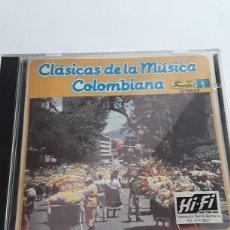 CDs de Música: CLÁSICAS DE LA MÚSICA COLOMBIANA / 21 GRANDES ÉXITOS/ CD ORIGINAL. Lote 206224876