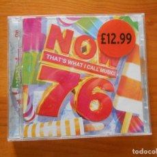 CDs de Música: CD NOW 76 (2 CD'S) - LEER DESCRIPCION (GÑ). Lote 206232996