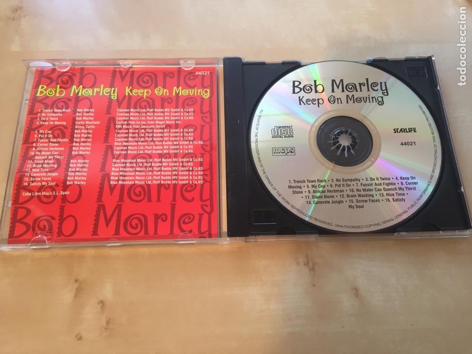 CDs de Música: Bob Marley - Keep On Moving - CD ALBUM MUY DIFÍCIL DE ENCONTRAR - Foto 3 - 206236436