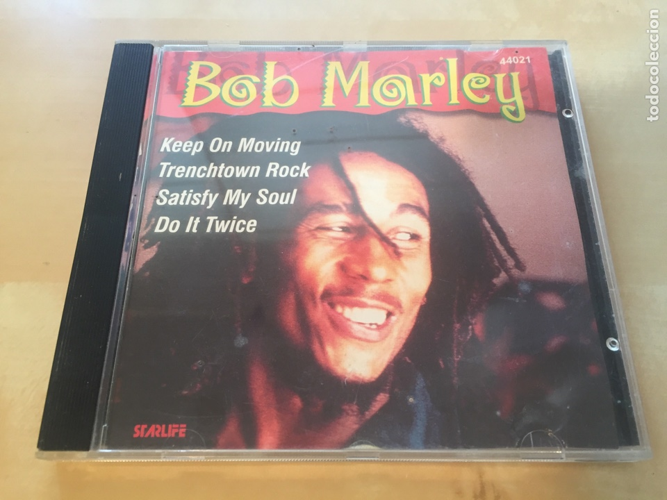 BOB MARLEY - KEEP ON MOVING - CD ALBUM MUY DIFÍCIL DE ENCONTRAR (Música - CD's Reggae)