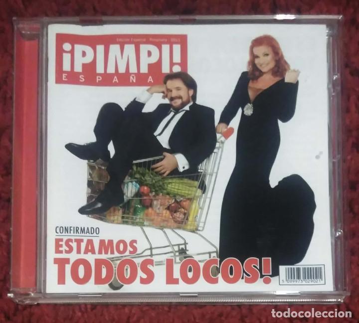 PIMPINELA (ESTAMOS TODOS LOCOS!) CD 2011 (Música - CD's Melódica )
