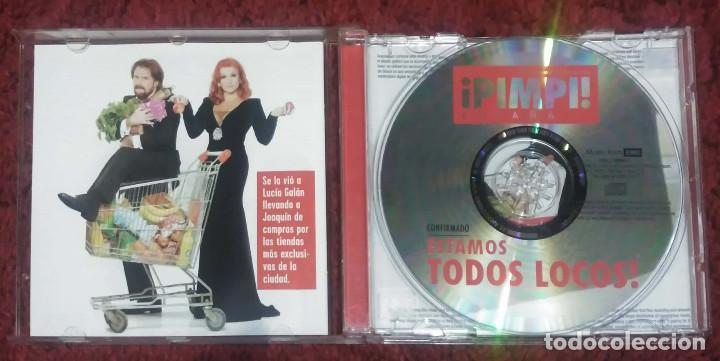 CDs de Música: PIMPINELA (ESTAMOS TODOS LOCOS!) CD 2011 - Foto 3 - 206242230