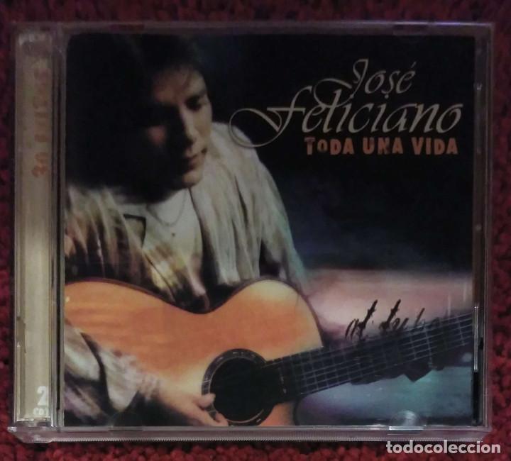 JOSE FELICIANO (TODA UNA VIDA) 2 CD'S 2003 EDICIÓN USA (Música - CD's Melódica )