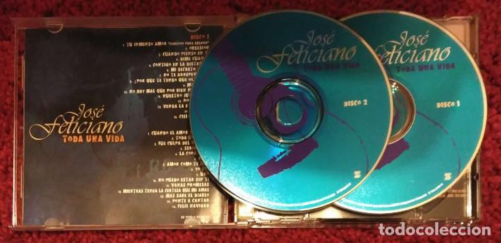 CDs de Música: JOSE FELICIANO (TODA UNA VIDA) 2 CDS 2003 EDICIÓN USA - Foto 3 - 206243238
