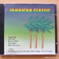 CDs de Música: JAMAICAN CLASSIC MUSIC GLOBE RECORDS (CD) 1998. Lote 206249536
