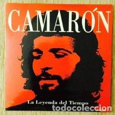 CDs de Música: CAMARÓN - CD SINGLE PROMOCIONAL DE LA LEYENDA DEL TEMPO. Lote 206267181